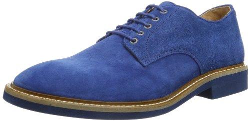 SELECTED HOMME 16030244, Chaussures à Lacets Homme - Bleu - Blau (Royal Blue), 45 EU