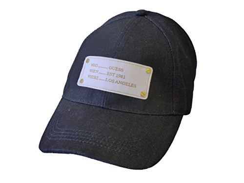 Guess Damen Mütze AW7409-COT01-DEN-0 Kappe,Baseball Cap Blau