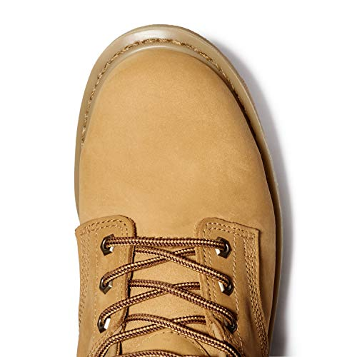 Timberland PRO Men's Pitboss 6″ Steel-Toe Boot,Wheat,11.5 M