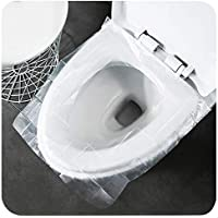 50-Pieces Travel Disposable Toilet Seat Cover