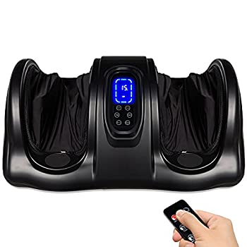 Shiatsu Foot Massager Kneading & Rolling Leg Calf Ankle with Remote