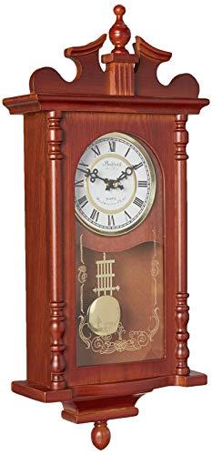 relojes de pared en madera con pendulo fabricante Bedford Clock Collection