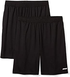 Amazon Essentials Men's 2-Pack Loose-Fit Performance Shorts
