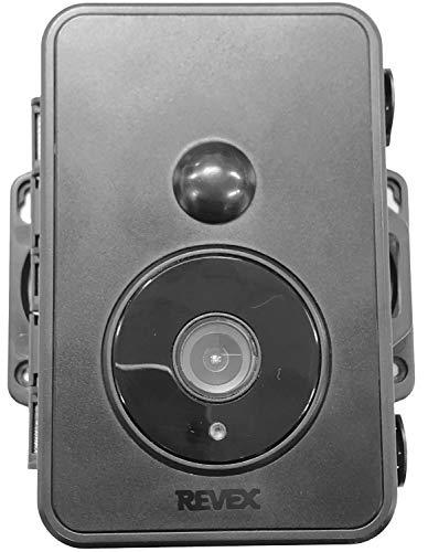 リーベックス(Revex) センサーカメラ 防犯カメラ 防雨型 録画式 電池式 人感センサー SDN1500