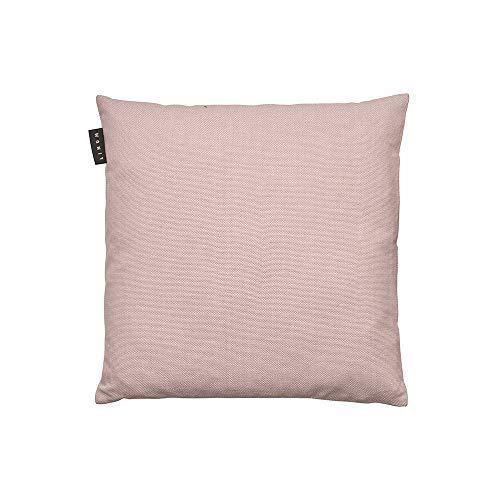 Linum Pepper Eleganter Kissenbezug für Dekokissen 40cm x 40cm, 100% Baumwolle, Maschinenwaschbar, Altrosa
