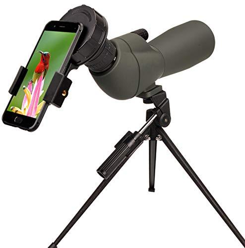 20-60x60 HD Spotting Scope BAK4 45 Degree Angled Eyepiece...