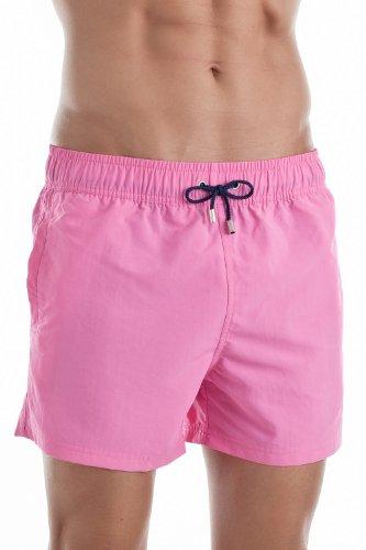 HOM Herren Badeshort 10119960 Marine Chic Boxer Short, Gr. 7 (XL), Pink (PINK - DARK COMBINATION M020)