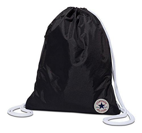 Converse Converse Cinch 10003340-A03 Borsa Messenger 46 centimeters 18 Nero (Black)