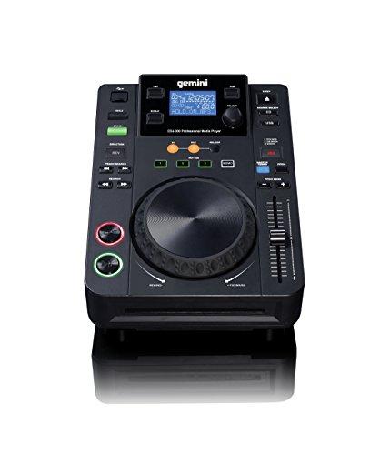 Gemini Sound_and_Recording_Equipment, Black, 4.40 x 8.70 x 11.40 (CDJ-300)