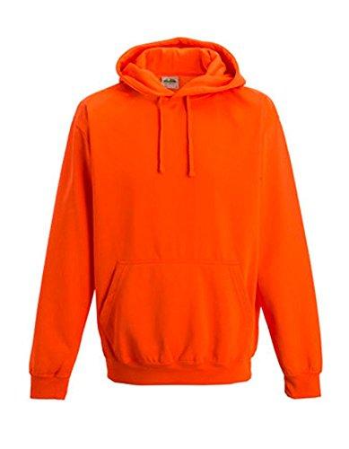 Coole-Fun-T-Shirts - Sudadera, con Cuello Redondo para Hombre, Color Neonorange, Talla 2XL