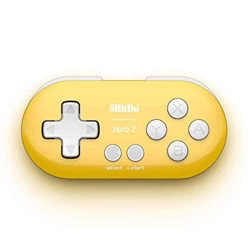 QUMOX 8Bitdo Zero 2 Bluetooth Gamepad para Nintendo Switch