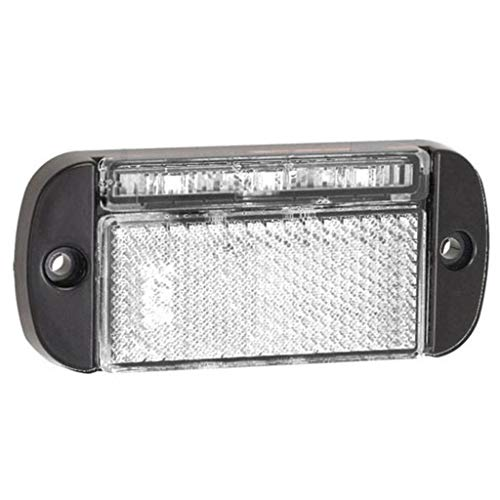 LED Autolamps Feu de Position à Faible Encombrement Blanc 12/24V 44WME