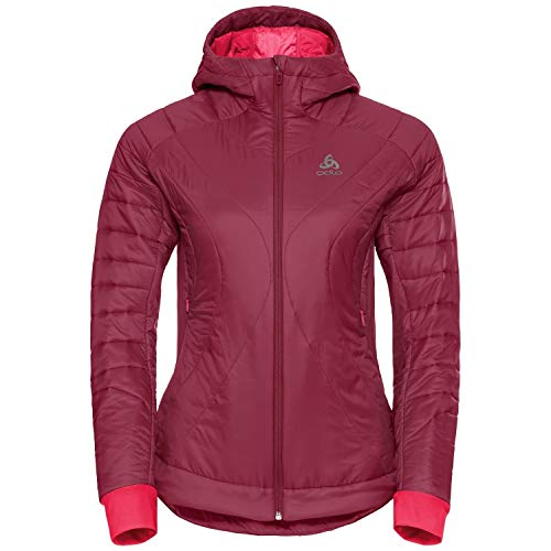 Odlo Insulated Flow Cocoon Zw Veste pour femme XS Rouge rumba