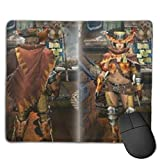 Monster Hunter: World Customized Designs Non-Slip Rubber Base Gaming Mouse Pads for, Pc, Computers. Ideal for Working Or Game