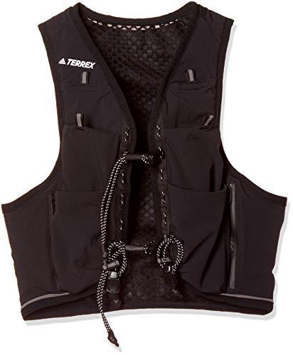 adidas Herren Unisex Weste Terrex Weste, Black/Black/White, M, DT5090