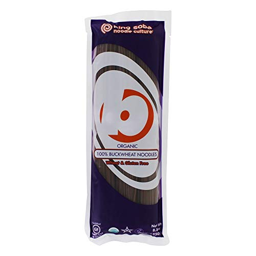 King Soba - % 100organici delle tagliatelle del grano saraceno - 8,8 oncia.