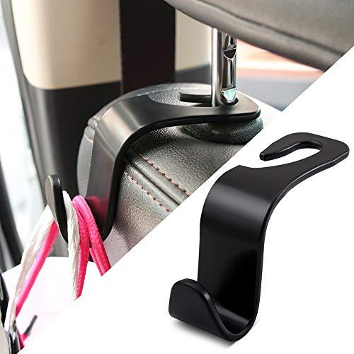 Qinqin666 Autositz Kopfstützenhaken, Clips Autositz Haken Auto Fastener Access for...