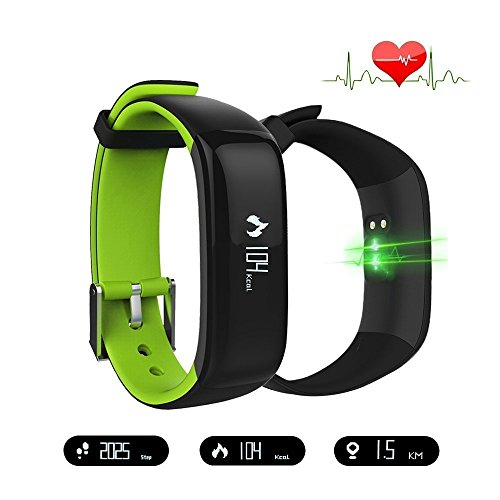 ZZY Fitness tracker,Smart Band Watchband Health Fitness Tracker with Heart Rate Monitor and Blood Pressure Sports Smart Wristband Pedometer Smart Bracelet Bluetooth Smart Watch For IOS Android Phone