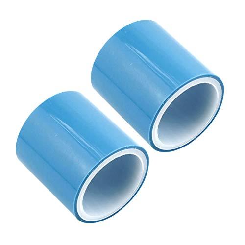 Heallily - 2 Rollos de Cinta Adhesiva de Resina epoxi sin Costuras, Cinta Adhesiva de Resina epoxi para Estudiantes, Mujeres y niñas
