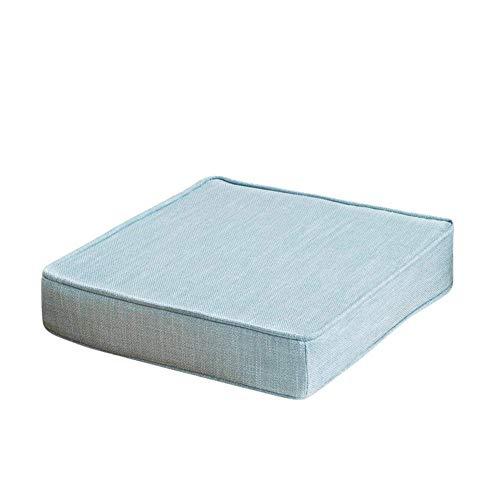 Cojín de asiento con espesos, esponja de espesa de esponja de esponja de espesor, muebles de patio, almohadillas de asiento para suelo, alimentos para exteriores, almohadillas de silla al aire libre,