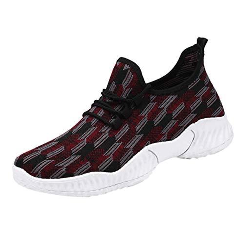 SANFASHION Schuhe Herren Laufschuhe Atmungsaktiv Gym Turnschuhe Freizeit Sneaker Turnschuhe Wanderschuhe Running Wanderschuhe Outdoorschuhe