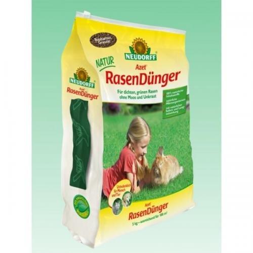 Neudorff Azet Rasen Dünger 2,5 kg, Volldünger, Langzeitdünger