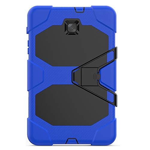 GHC Pad Fundas & Covers para Samsung 8, Armor TPU PC Hybrid Stand Cubierta de la Caja de la Caja de Silicona Soporte a Prueba de Golpes Ligero de la Cubierta de 3 Capas de 3 Capas para Samsung 8 T380