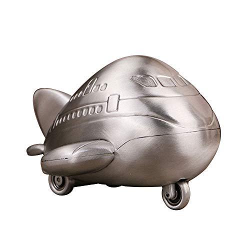 WXK Alcancía Metal Almacenamiento Monedas, Caja Dinero