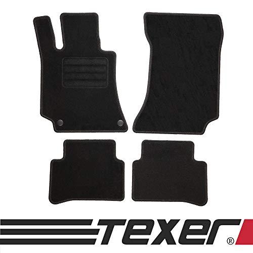 CARMAT TEXER Textil Fußmatten Passend für Mercedes-Benz E-Klasse W212 Bj. 2009-2016 Basic