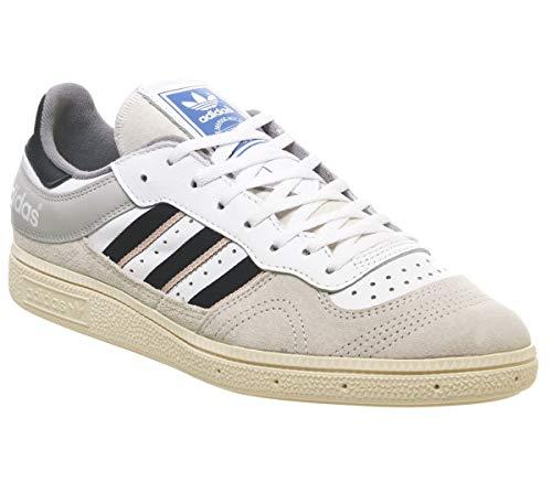 adidas Originals Handball Top, Raw White-Collegiate Navy-Vapour Pink, 6,5