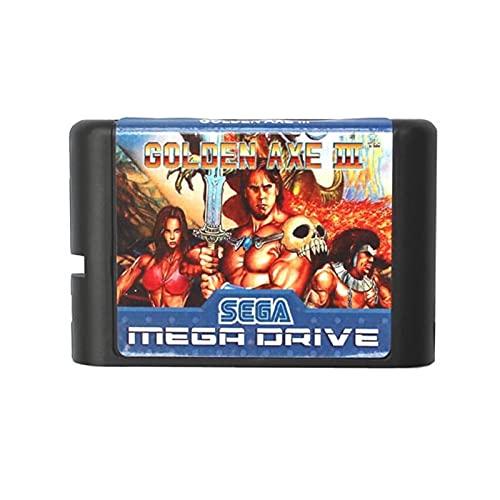 Friday Blue Hache d or III 16 Bit Maryland Carte de Jeu adaptée pour Sega Mega Drive Fit pour Genesis ZZ