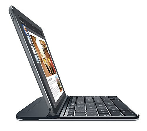 Logitech Ultrathin - Funda con Teclado para Apple iPad Air, Negro - QWERTY Español