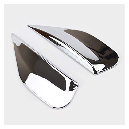 SHPING® Chrome Heckscheibe Seiten Spoiler Abdeckung Trim Zierleisten Fit for Buick Encore Opel Mokka 2012 2013 2014 2015 2016-2018