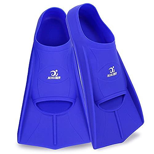 Flytise Pinne da Snorkeling in Silicone Pinne Corte Pinne da Immersione comode Pinne da Nuoto Leggere Attrezzatura da Snorkeling Attrezzatura da Snorkeling Pinne da Snorkeling in Silicone