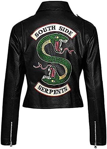 Girls Biker Gang Black Leather Jacket for Girls