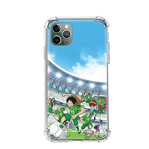 Tznzxm One Piece Roronoa Zoro Funda iPhone Airbag Anti-Fall Clear Soft Phone Cover Color_09 For Funda iPhone 6/Funda iPhone 6S Cases