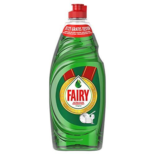 Fairy Spülmittel (625 ml) Original, mit effektiver Formel für sauberes Geschirr und Fettlösekraft