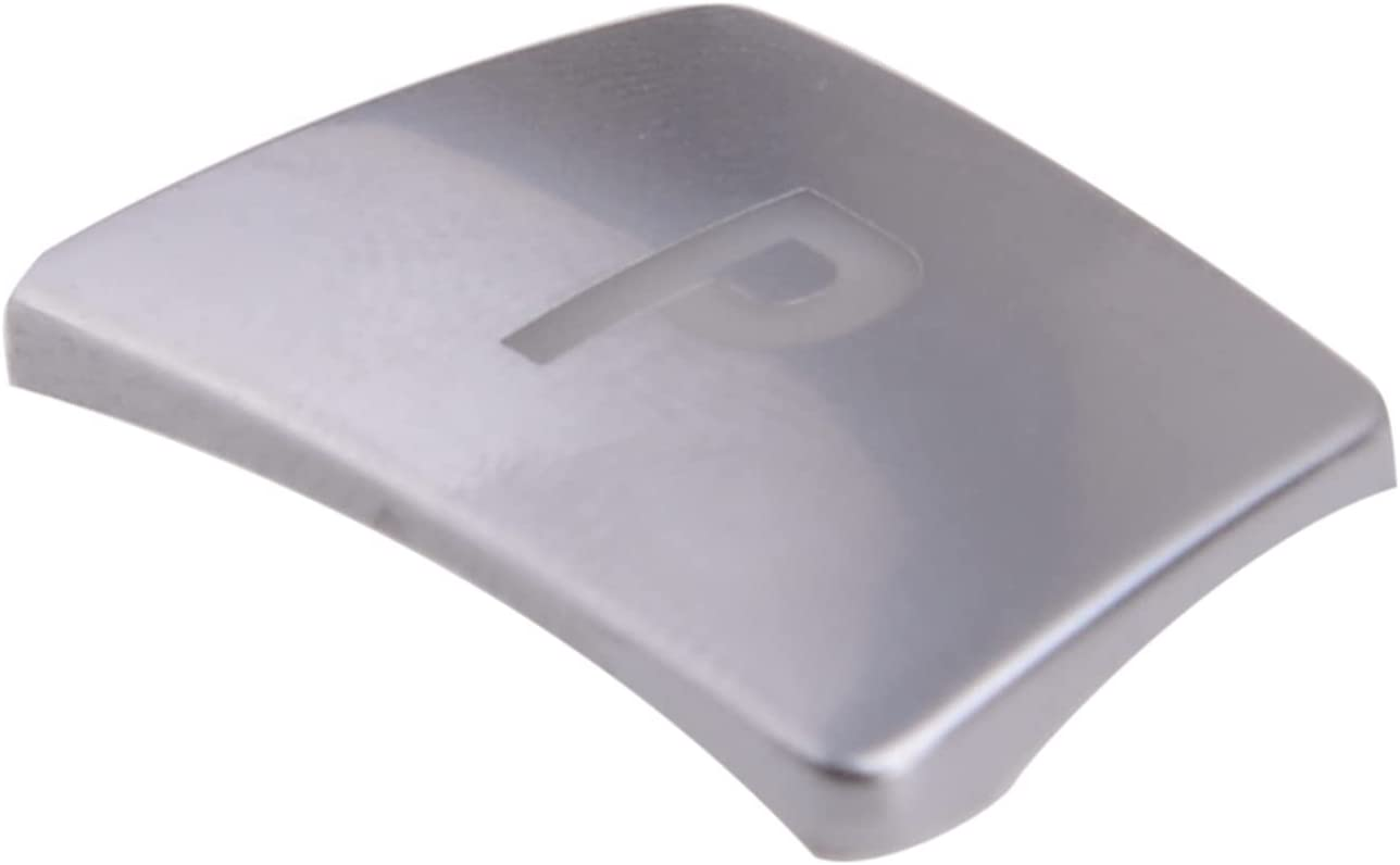 SHUAI Silver ABS Gear Shift Low price Knob mart P Button fo Fit Push Cover Trim