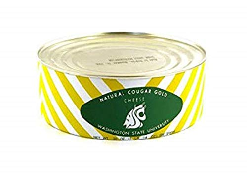 WSU Creamery Wazzu Cougar Gold Sharp White Cheddar Cheese 30oz Can 1Can Pack