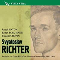 Svyatoslav Richter - Recital at the Great Hall of the Moscow Conservatoire 30.05.1949