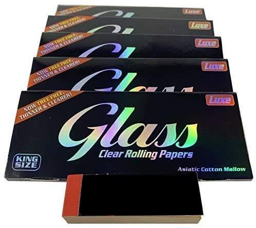 Reds Exclusivamente - Papel Transparente King Size Glass x 5