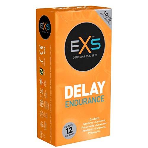 bester der welt EXS Delay Endurance – 12 Kondome – Lieben Sie die Wirkstoffe länger – mit mehr Resistenz… 2021