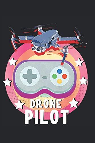 Drohnen Pilot Geschenkidee Fernbedienung: Pilot Notizbuch