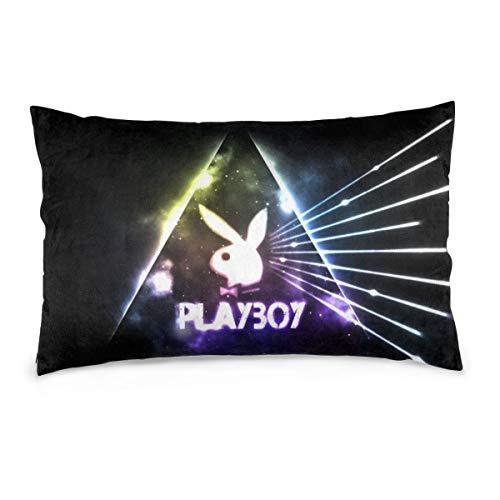XNMCNEV Playboy Throw Pillow Case Double Side Cushion Cover 14'X20' No filler