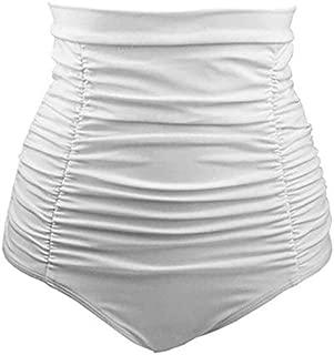 BEESCLOVER snowshine3 YLW Women Girl Bathing Sexy Beach Swimwear High Waist Trunks Shorts Pants