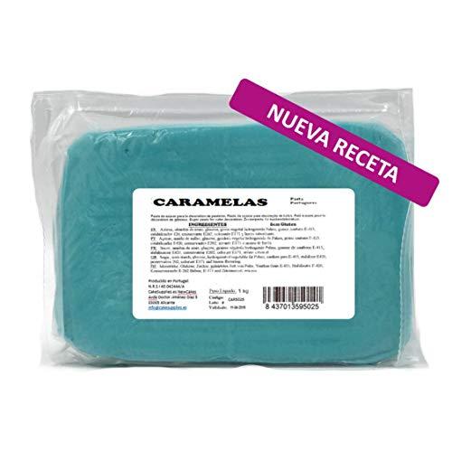 CARAMELAS – Pâte à sucre portugaise – Recette 1 kg – Idéal pour couvrir tout type de gâteau ou cupcake 1000 gr
