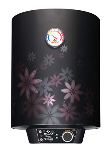 Bajaj Majesty PC Deluxe Storage 15 Litre Vertical 4 Star Water Heater, Multicolor