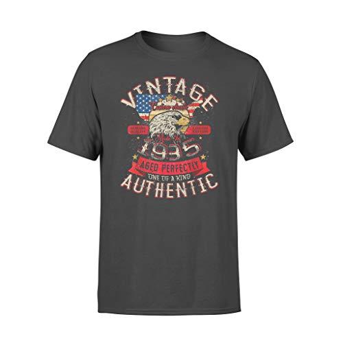 Legends Vintage Authentic 1935 Birthday - Camiseta estándar