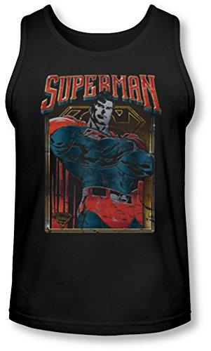 Superman - - Chef Bang Débardeur Homme, Large, Black