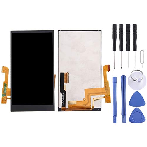 CWTIAN Handyzubehör LCD-Bildschirm Bildschirm Ersatz-Touch-Display LCD Digitizer Assembly mit Frontkamera Proximity Sensor + Full-Reparatur-Werkzeuge for HTC One M8 (schwarz)
